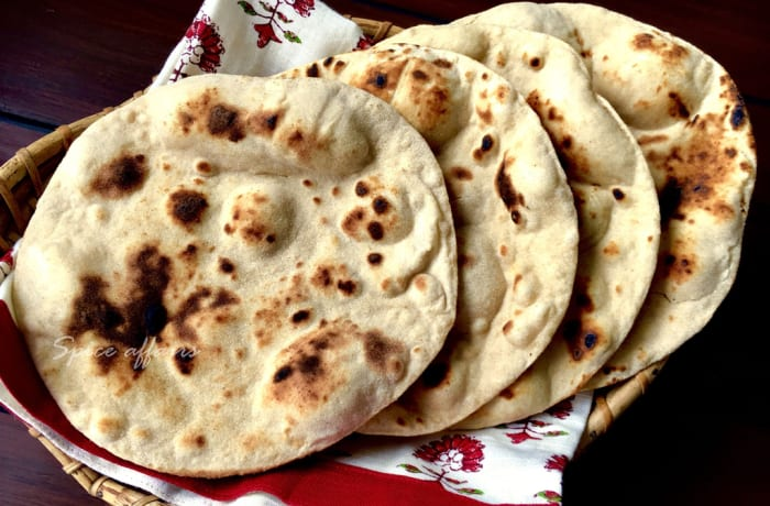 Steaks and Grills - Indian Specialties - Tandoori Roti