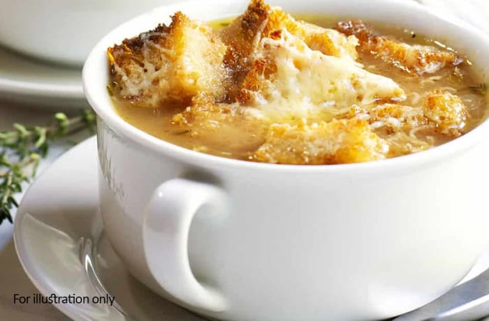 Steaks and Grills - Soups - Traditional French Onion