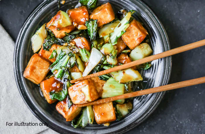 Jacaranda - Chinese Specialities - Tofu Sichuan Pepper