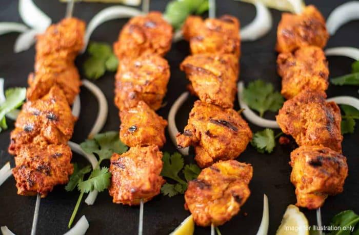 Tandoori  - Chicken Sheekh Kabab