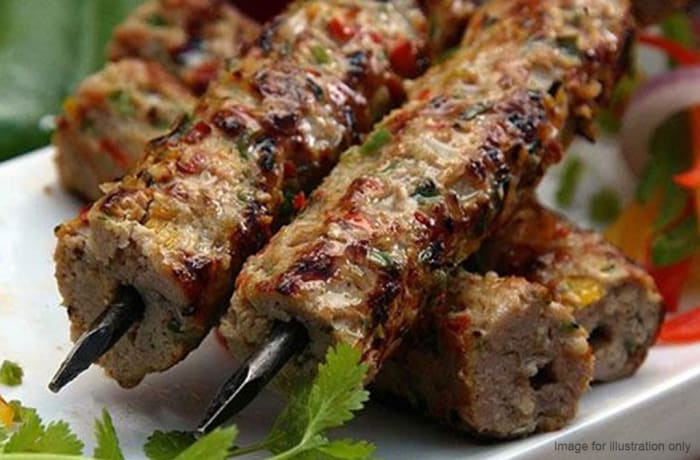Tandoori  - Mutton Sheekh Kabab