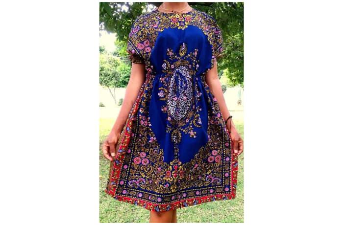 African print Kaftan Dress