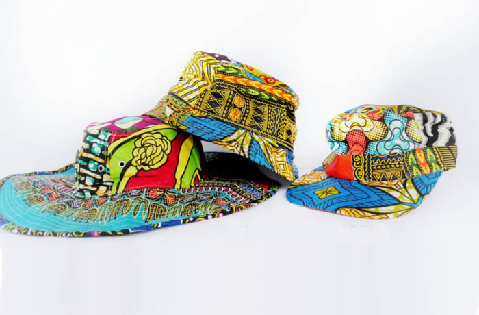 African print hats and cap