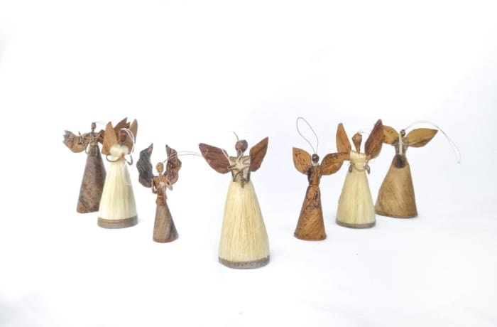 Christmas Tree Decorations of African Angels