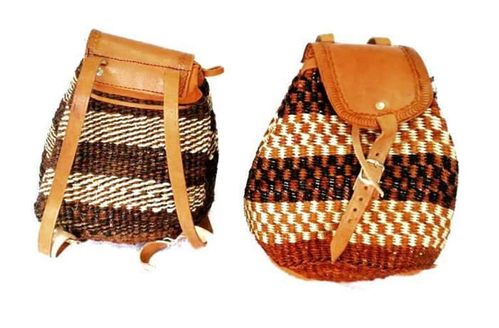 Sisal Backpacks