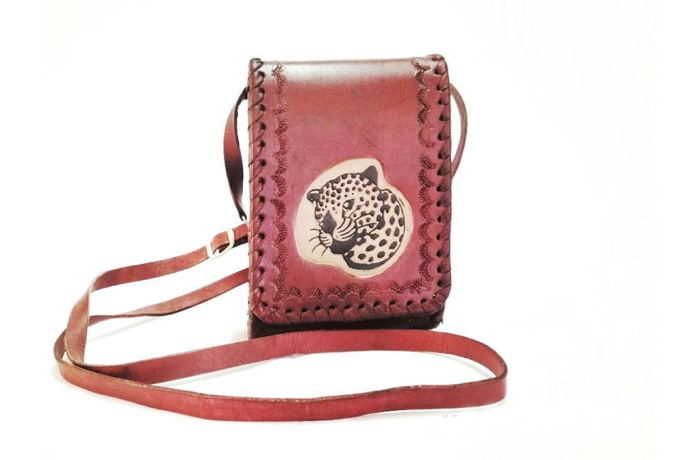 Leather Shoulder Pouch Bag