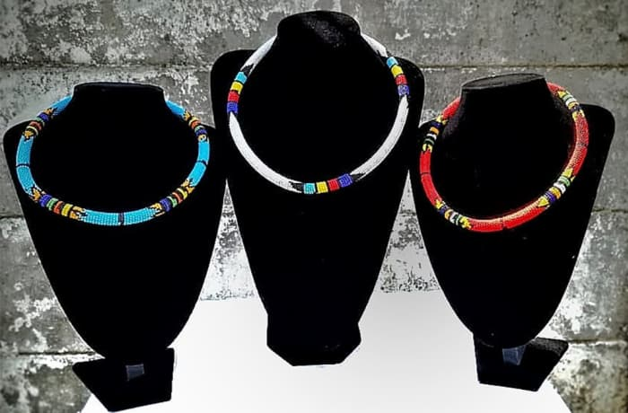 Masai round necklaces