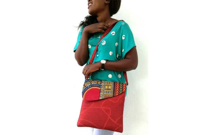 Chitenge Strap Bag
