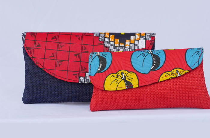 African Print Clutch Bags