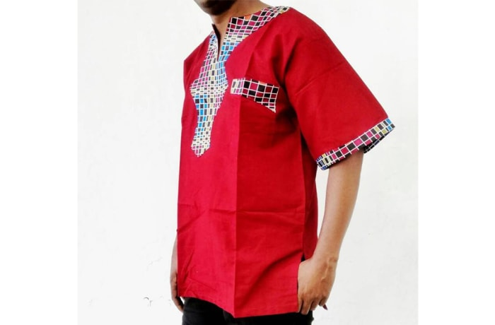 Multi-colour African Print Shirt