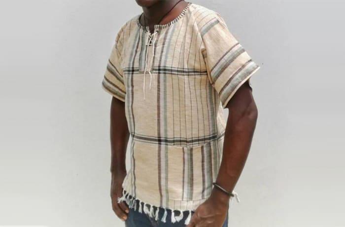 Hand Woven Kikoy Shirt