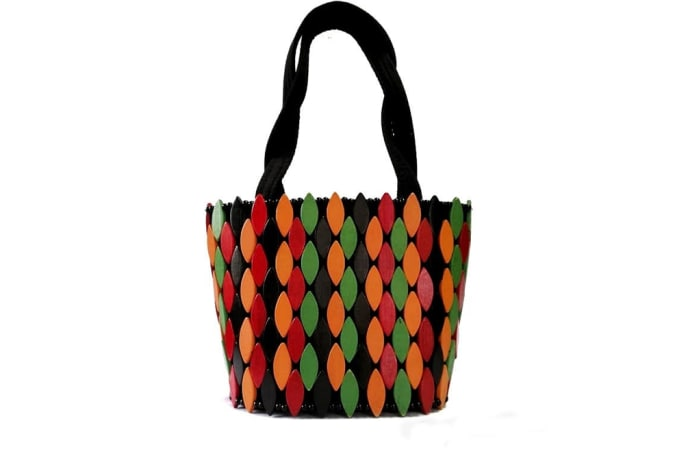 Zambia colours handbag