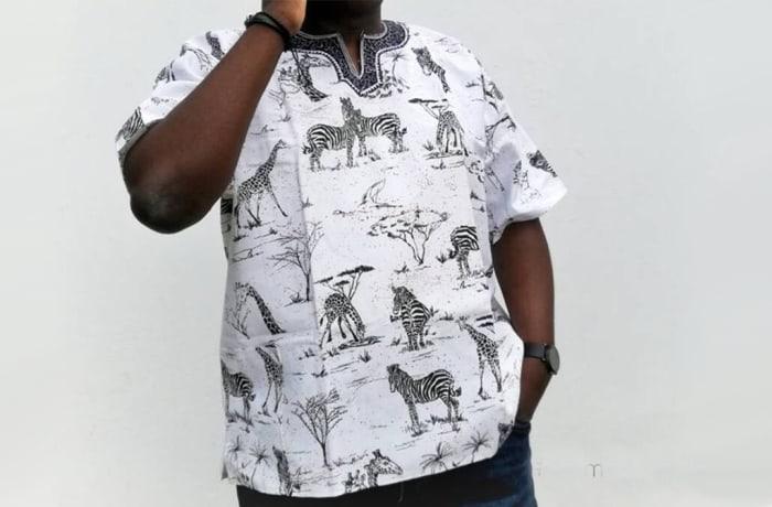 Animal Print African Shirt
