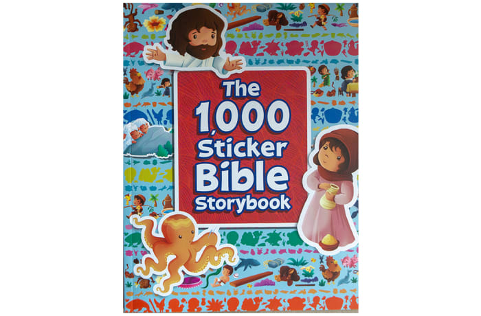 The 1,000 Sticker Bible Storybook