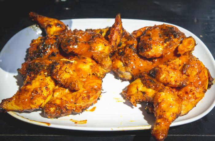 Braai Menu - Baby Chicken