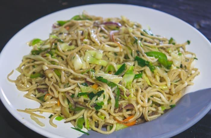 Tawa Menu - Vegetarian Hakka Noodles