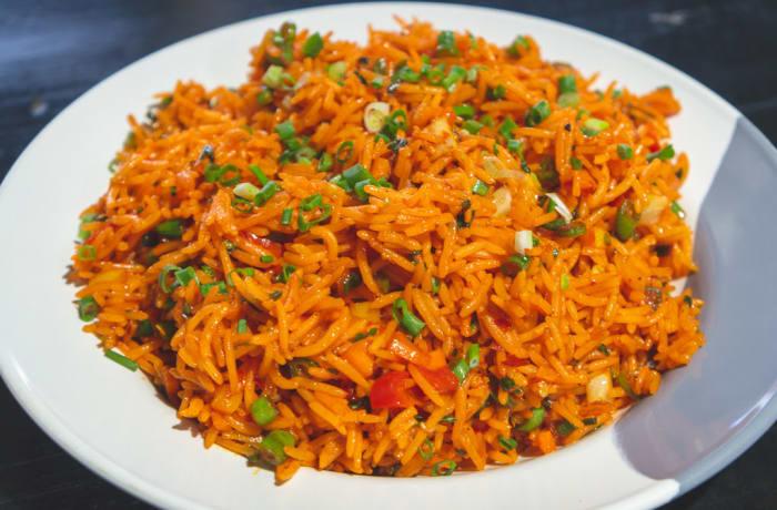 Rice - Vegetarian Schezwan Rice