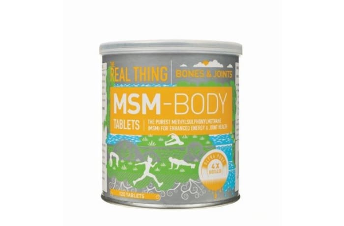 Msm-Body Tablets  Relieve Joint Pain and Stiffness for Athletes 120 Tablets
