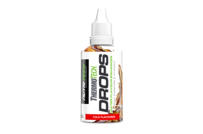 Thermotech®  Drops  Cola Flavoured Water Enhancer