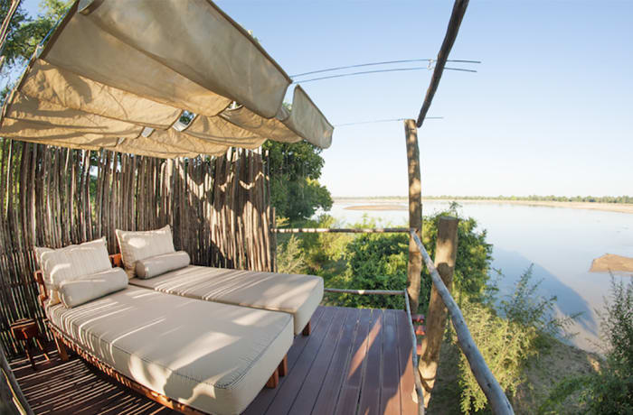 Three Rivers Bush Camp - South Luangwa National Park