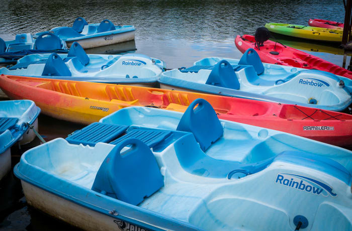 Water Activities: Paddle Boats
