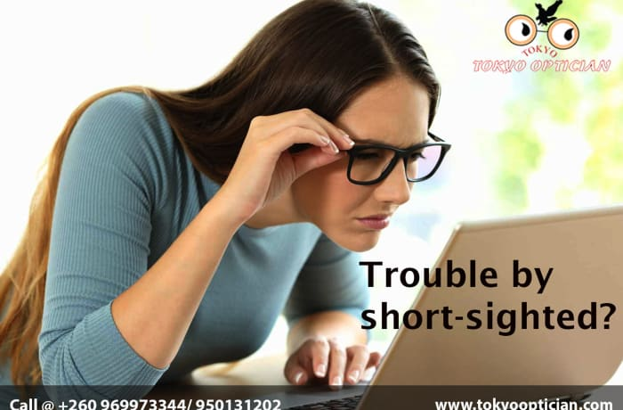 Trouble by shortsighted? image