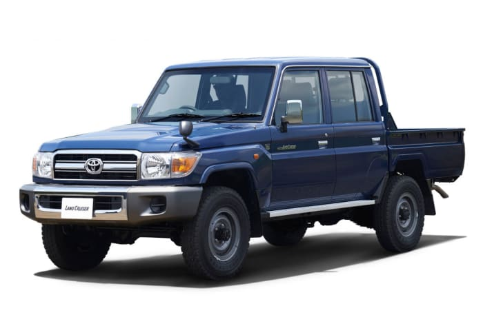 Toyota Land Cruiser - Per day - outside Lusaka