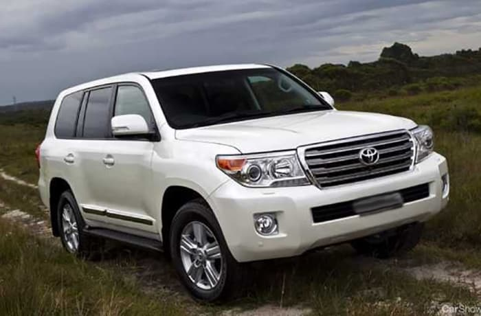 Toyota Land cruiser - Per day - within and outside Lusaka