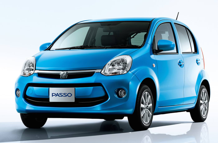 Toyota Passo - Per day - within Lusaka