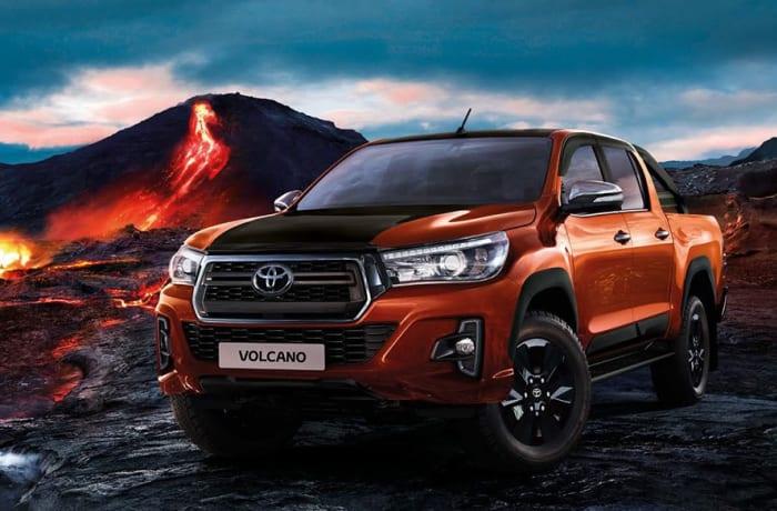 Toyota vehicle model range image