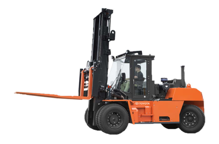 Toyota's Capacity IC Pneumatic Forklift