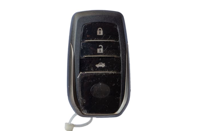 Toyota smart key (Hilux - Fortuner) (2)