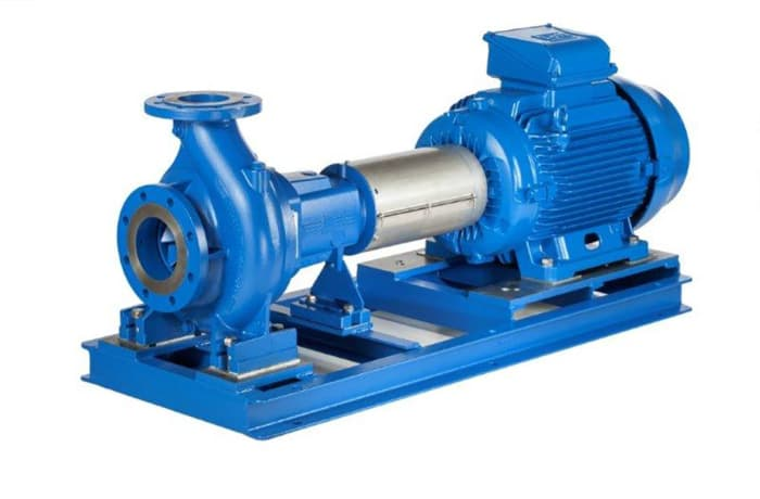 Lowara e-NSC Cast iron end suction pump