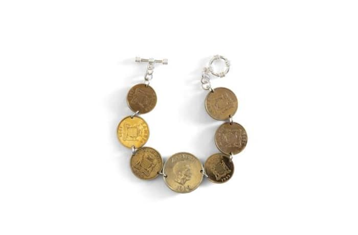 Trio coin bracelet