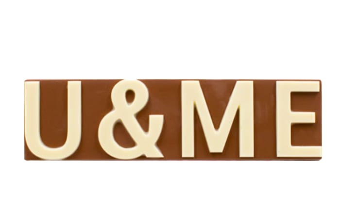 U & Me Chocolate Slab
