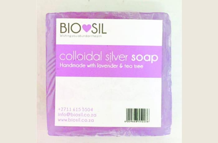 Biosil Colloidal Silver Soap - Lavender