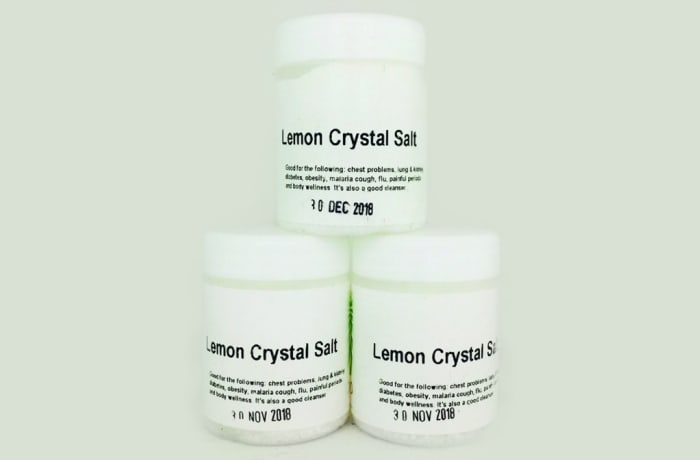Umoyo Lemon Crystal Salt
