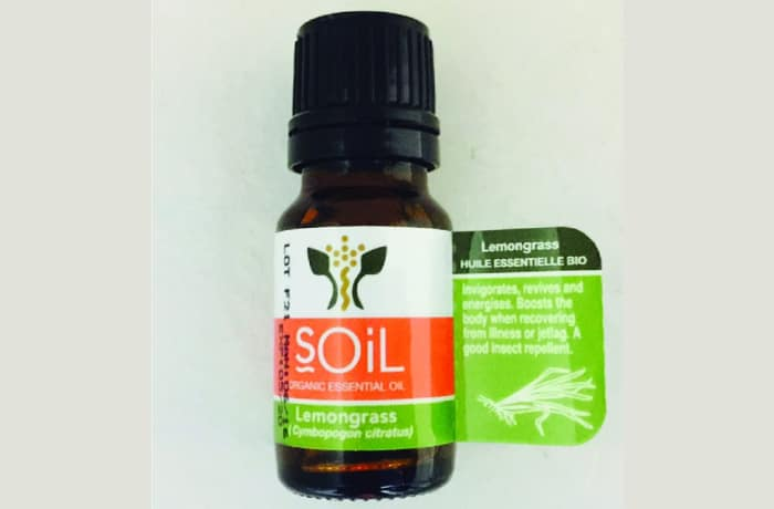 Lemongrass oil (Cymbopogon Citratus)