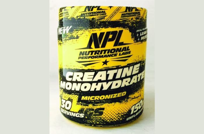 NPL - Unflavoured Micronized Creatine Monohydrate