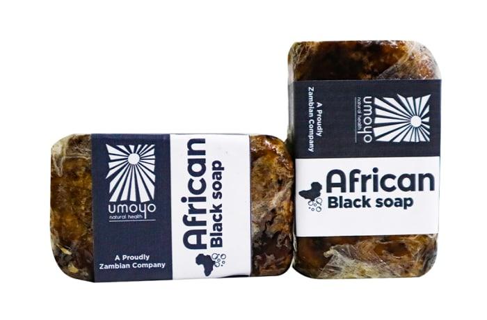 African Black Soap 100%  Natural Ingredients