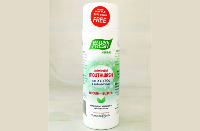 Nature Fresh Antimicrobial Mouthwash