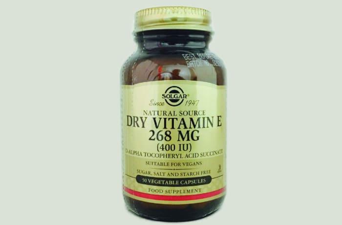 Solgar Dry Vitamin E 400IU