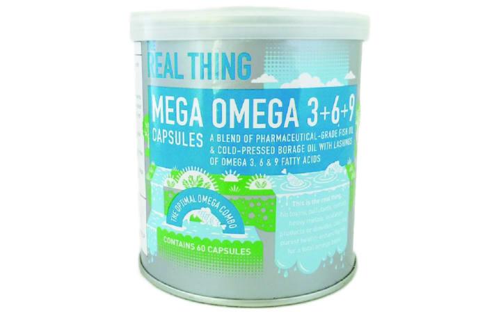 The Real Thing Mega Omega 3+6+9