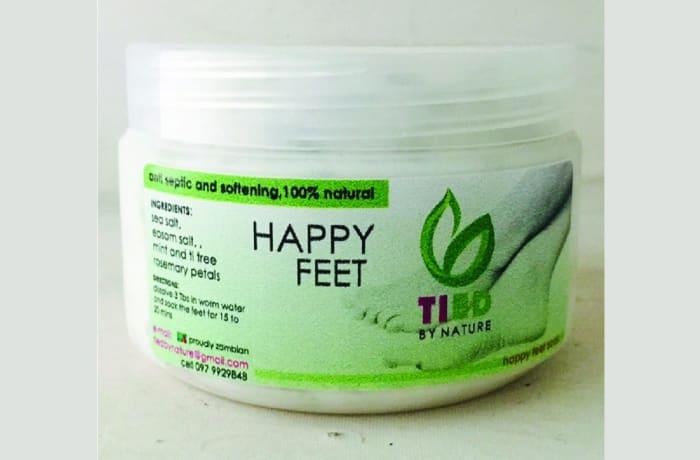 Treemendus Happy Feet Scrub