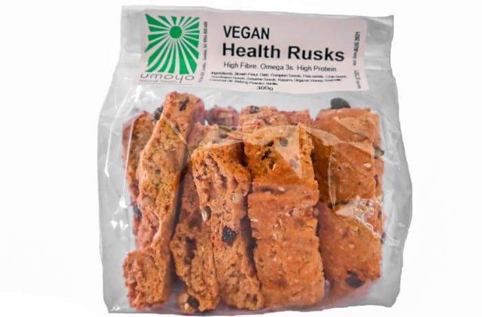 Vegan Health Rusks  High in Fibre Protein & Omega 3