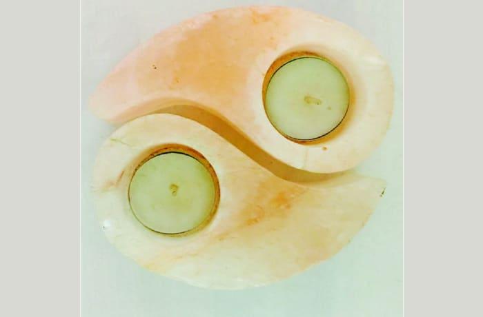 Umoyo Yin Yang Salt Candle