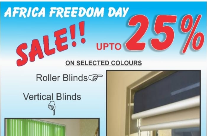 Up to 25% off selected Blinds image