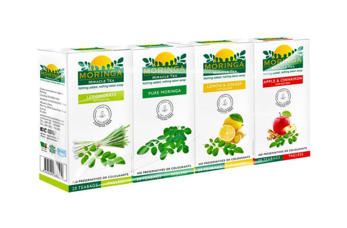 Herbal Teas Organic Superfood Variety Pack Moringa Miracle Teas