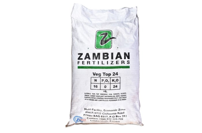 Top Dressings Veg Top 24  Fertilizer - 10kg
