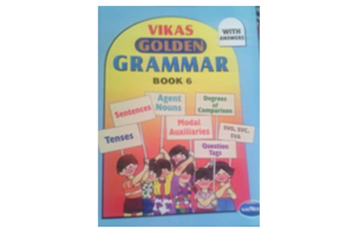 Vikas Golden Grammar Book 6
